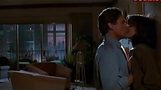 Jeanne Tripplehorn raunchy intercourse with Michael Douglas from Basic Instinct