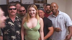 Candi Apple Comes to Play With The Tampa Mass ejaculation Crew!