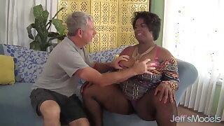 Marlise Morgan, The Black BBW Dick Cocksucker