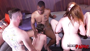 Ts Bisexual Orgy 3