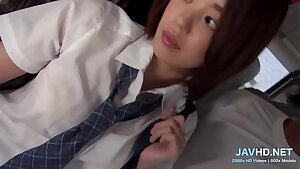 They are so super-cute  Japan schoolgirls  Vol 17 - More at javhd.net