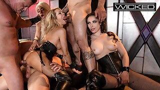 Wicked - Jessica Drake Organizes Orgy In Kinky Sex Club