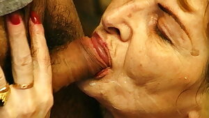 hairy 82 year old grandma tough fucked by her youthfull toyboy