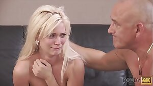 DADDY4K. Horny blondie wants to try someone little bit more accomplished