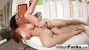 Gonzo smashing with stacked Alison Tyler and a big cock