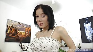 FirstAnalQuest.com - ANAL Fuck-fest Postures EXPLORED WITH BIG TITS RUSSIAN GIRL
